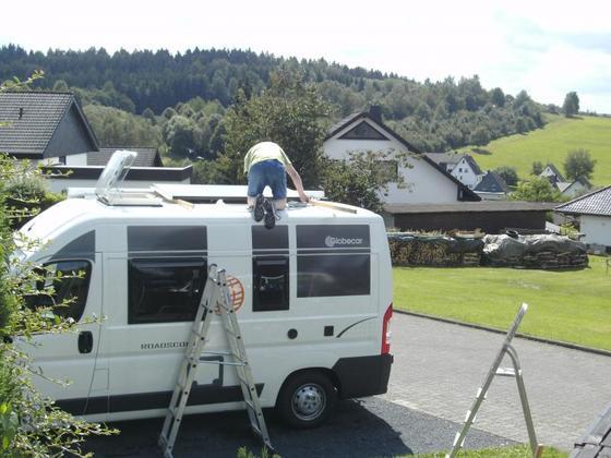 Montage SolaranlageBILD0073
