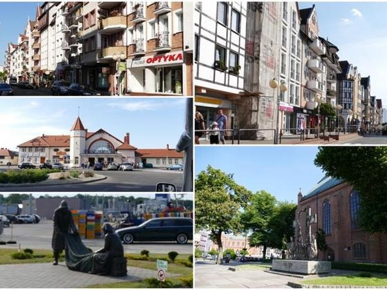 Kolberg Stadt Collage