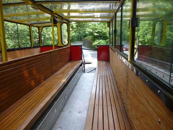 Nationalpark-Express, obere Etage, nur für uns