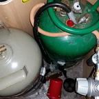 Es ist vollbracht, die Duo Controll mit zwei Gasfilter nicht ist verbaut.