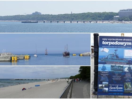 Kolberg Strand Collage
