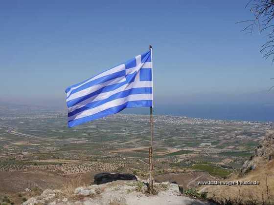 2016 - Griechenland-Peleponnes - Blick von Akrokorintos