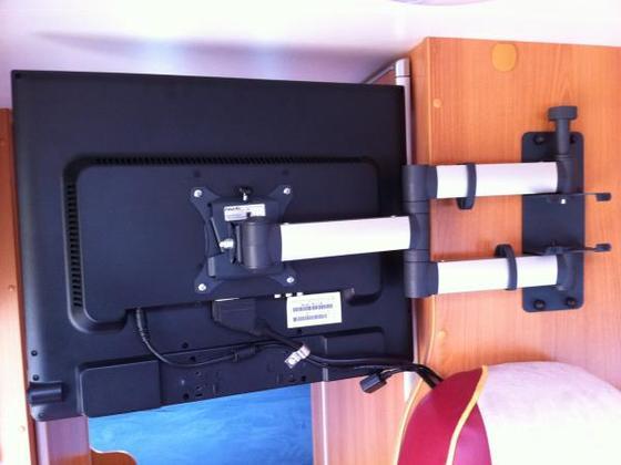 P ssl umbauten kastenwagen for Tv halterung selber bauen